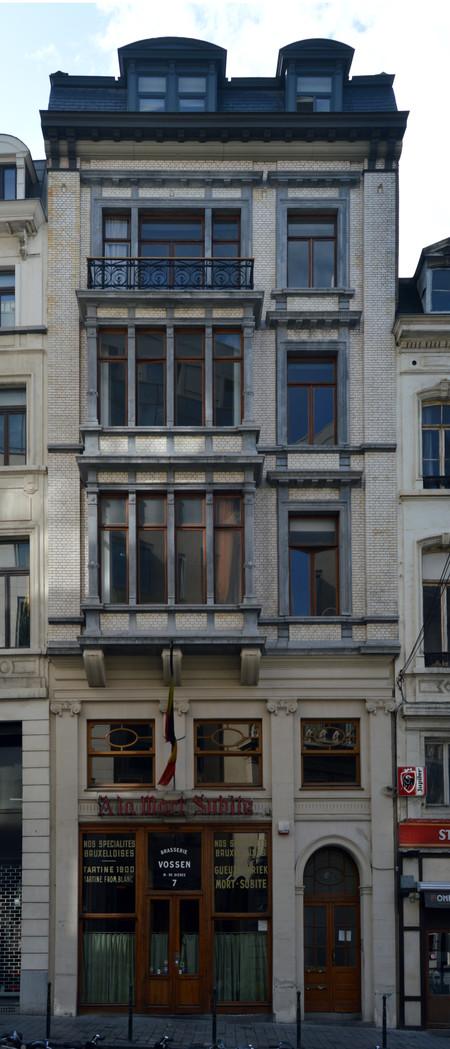 À la Mort Subite, Rue Montagne aux Herbes Potagères 5-7, Bruxelles (© CM, photo 2014)