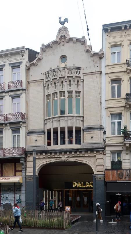 Anciennement Pathé Palace, actuel Le Palace, Boulevard Anspach 85, Bruxelles ( © CM, photo 2020)