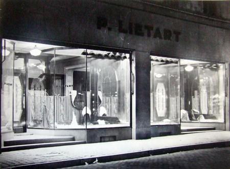Liétart, Rue Neuve 63-63a-67, Bruxelles, vitrine  (© Fondation CIVA Stichting/AAM, Brussels /Paul Hamesse)
