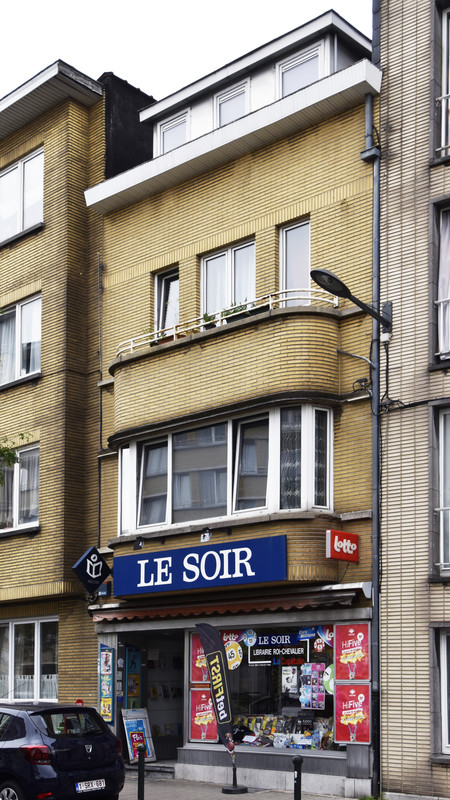 Avenue Hansen Soulie 8, Etterbeek, façade ( © APEB, photo 2017)