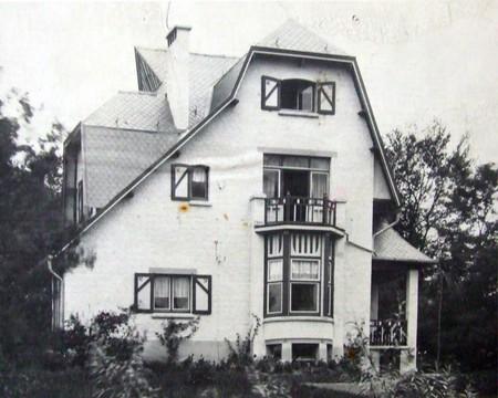 Groenendaalsesteenweg, Hoeilaart, villa, Vers l'Art n°4, avril 1907, pl. 92