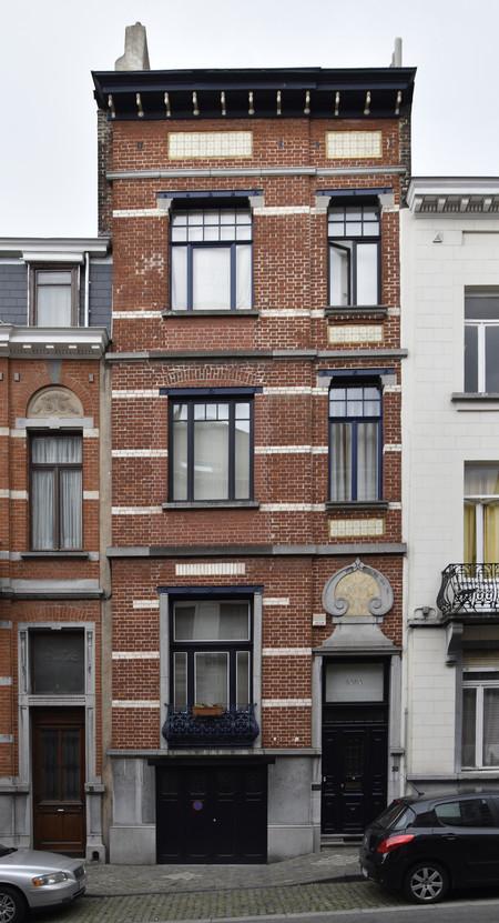 Rue Arthur Diderich 20, Saint-Gilles, façade ( © APEB, photo 2017)