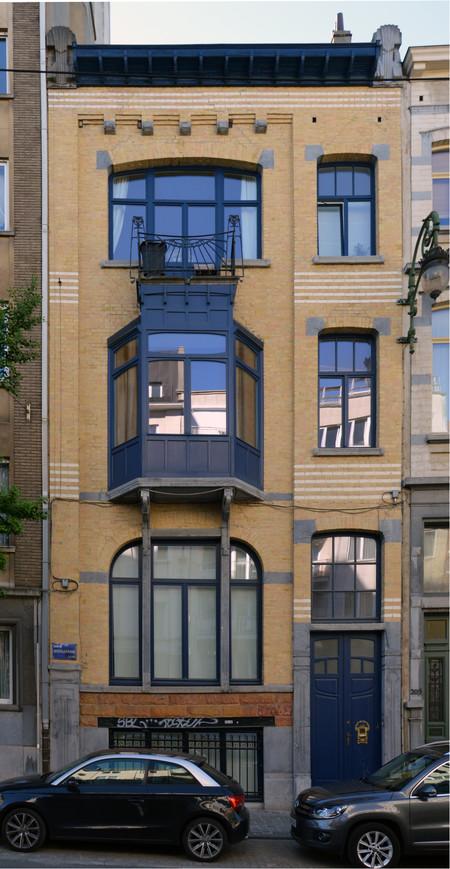 Avenue Brugmann 211, Ixelles, façade (© CM, photo 2017)