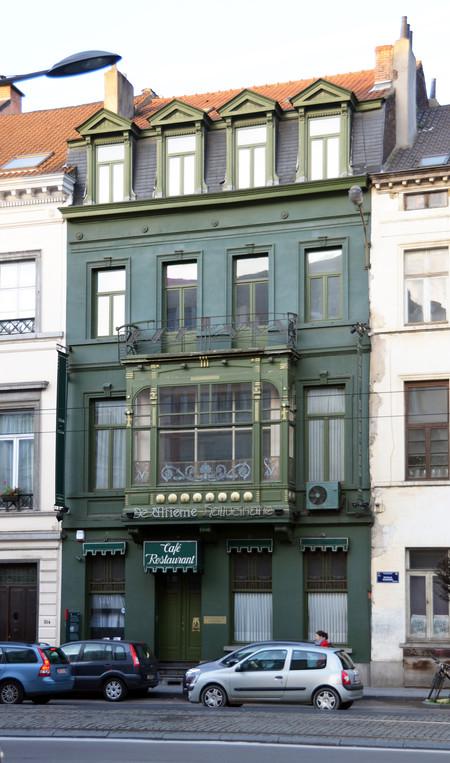 Hôtel Cohn-Donnay, Koningsstraat 316, Sint-Josse-ten-Node, gevel Koningsstraat ( © APEB, foto 2013)