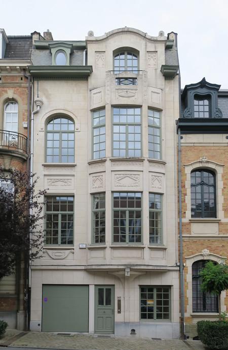 Rue Franz Merjay 197, Ixelles (© APEB, photo 2017)
