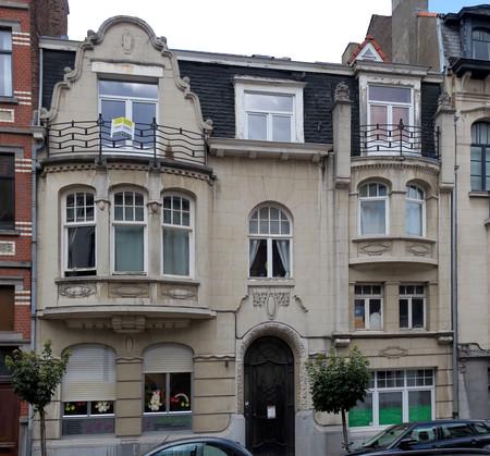 Rue Emmanuel Van Driessche 40-42, Ixelles (© APEB, photo 2017)
