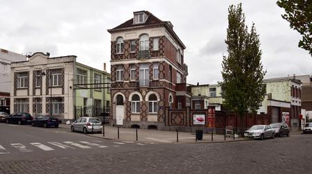 Ets Van der Elst, Charles Demeerstraat 1-3 | Dieudonné Lefèvrestraat 75, Brussel Laken, opstanden (© APEB, foto 2017)
