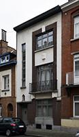 Rue des Glaïeuls 40, Uccle, élévation principale (© CM, photo 2017)