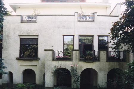Rue Jean-Gérard Eggericx 16, Woluwe-Saint-Lambert, élévation de la façade arrière (© SPRB-BDU, photo 2003)
