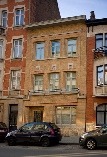 Avenue Emile De Béco 71, Ixelles, élévation principale (©SPRB-BDU, photo 2012)