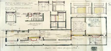 Rue Keyenveld 39, Ixelles, plan des transformations, ACI/Urb. 186-39