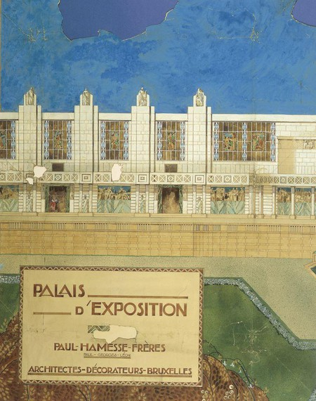 Projet pour un palais d'exposition (non réalisé) (© Fondation CIVA Stichting/AAM, Brussels/ Paul Hamesse)