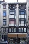 Lombardstraat 5-9, Brussel, hoofdgevel (© CM, foto 2014)