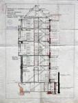 Rue du Lombard 5-9, Bruxelles, coupe, AVB/TP 3969 (1908)