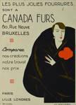 Canada Furs, Rue Neuve 80, Bruxelles, publicité (© Fondation CIVA Stichting/AAM, Brussels /Paul Hamesse)