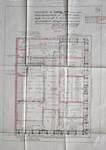 Cie d'assurance Vie Utrecht, Rue de la Loi 13-15, Bruxelles, projet de transformation, plan du quatrième étage, AVB/TP 33739 (1927)