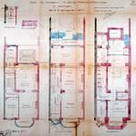 Avenue de Tervueren 120, Woluwe-Saint-Pierre, plan des niveaux, ACWSP/Urb. 323
