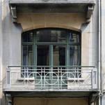 Usines Emile Goeyens, place du Jardin aux Fleurs 5, Bruxelles, façade rue des Fabriques  ( ©CM, photo 2014)