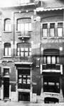 Félix Delhassestraat 11-13, Sint-Gillis, gevel huis n°13 (© Fondation CIVA Stichting/AAM, Brussels /Paul Hamesse)