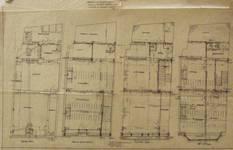 Hôtel Leefson, Rue de l'Ecuyer 47, Bruxelles, plan des niveaux  (© Fondation CIVA Stichting/AAM, Brussels /Paul Hamesse)
