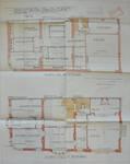 Hôtel Sigart, Avenue Louise 413, Bruxelles Extension Est, plan des étages, AVB/TP 1865 (1911)
