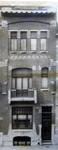 Rue Félix Delhasse 11-13, Saint-Gilles, façade maison n°11 (© Fondation CIVA Stichting/AAM, Brussels /Paul Hamesse)