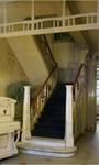 Hôtel Cohn-Donnay, Rue Royale 316, Saint-Josse-ten-Noode, rez-de-chaussée, escalier ( © APEB, photo 2013)