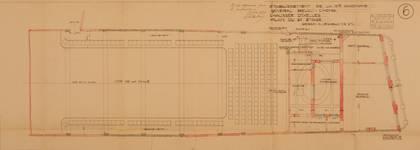 Albert Hall, Chaussée d'Ixelles 16 | Chaussée de Wavre 12, Ixelles, plan du deuxième étage, ACI/Urb. 171-16