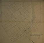 Cité Haren-Paroisse, Rue de la Paroisse 161-199, Bruxelles Haren, plan de lotissement (© Fondation CIVA Stichting/AAM, Brussels/ Paul Hamesse)