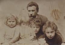 Léon, Hélène, Adolphe, Paul en Georges Hamesse, archieven familie Hamesse