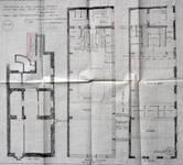 Magasin A la Ville de Paris, Rue Neuve 47, Bruxelles, plan des niveaux, AVB/TP 35606 (1919)