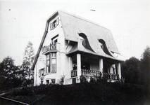 Groenendaalsesteenweg, Hoeilaart, villa, Vers l'Art n°4, avril 1907, pl. 91