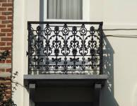 Rue de la Consolation 94, Schaerbeek, premier étage, balcon ( © APEB, photo 2013)