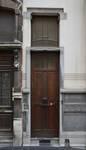 Rue Albert de Latour 7, Schaerbeek, porte d'entrée ( © APEB, photo 2012)