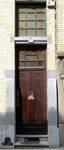 Trooststraat 100, Schaarbeek, ingangsdeur (© CM, foto 2013)