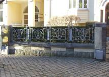Avenue Jeanne 9-11, Ixelles, vestige de la grille du jardinet, (©APEB, photo 2017)