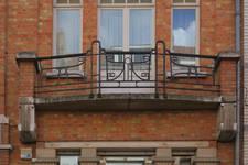 Rue Victor Greyson 49B, Ixelles, balcon (© APEB, photo 2016)