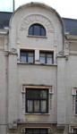 Avenue Jef Lambeaux 25, Saint-Gilles, façade rue Antoine Bréart  (© CM, photo 2014)
