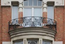 Rue Emile Bouilliot 15, Ixelles, balcon (© APEB, photo 2017)