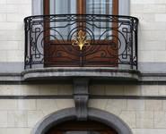 Avenue Roger Vandendriessche 33, Woluwe-Saint-Pierre, balcon (© APEB, photo 2017)