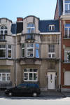 Rue Alphonse  Renard 30-36, Ixelles, élévation principale du n° 36 (© APEB, photo 2017)
