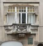 Avenue Victor Rousseau 47, Forest, fenêtre du premier étage (© SPRB-BDU, photo 2016)