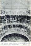 Pathé Palace, Boulevard Anspach 85, Bruxelles, photographie des travaux de construction, archives familiales Hamesse
