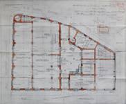 Usines Emile Goeyens, place du Jardin aux Fleurs 5, Bruxelles, plan du rez-de-chaussée, AVB/TP 3900 (1909)