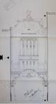 Pathé Palace, Boulevard Anspach 85, Bruxelles, projet non retenu de façade principale, AVB/TP 25458 (1913)