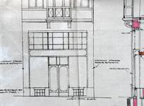 Blampoix, Boulevard du Régent 9, Bruxelles, projet de transformation, vitrine, AVB/TP 32001 (1924)
