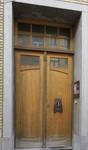 Elyzeese Veldenstraat 6A, Elsene, deur (© APEB, foto 2017)