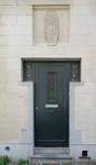 Rue Alphonse  Renard 30-36, Ixelles, porte d'entrée du n° 32 (© APEB, photo 2017)