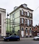 Ets Van der Elst, Charles Demeerstraat 1-3 | Dieudonné Lefèvrestraat 75, Brussel Laken, opstand voorgevel Charles Demeerstraat (© APEB, foto 2017)