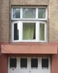 Avenue Henri Hollevoet 6, Molenbeek-Saint-Jean, fenêtre du premier étage (© CM, photo 2017)